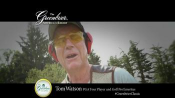 The Greenbrier Resort TV Spot Feat. Tom Watson, Kenny Perry, Stuart Appleby - Thumbnail 3