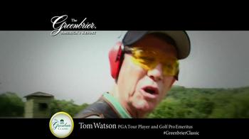 The Greenbrier Resort TV Spot Feat. Tom Watson, Kenny Perry, Stuart Appleby - Thumbnail 4