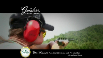 The Greenbrier Resort TV Spot Feat. Tom Watson, Kenny Perry, Stuart Appleby - Thumbnail 5