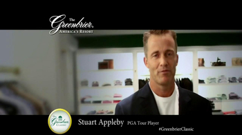 The Greenbrier Resort TV Spot Feat. Tom Watson, Kenny Perry, Stuart Appleby