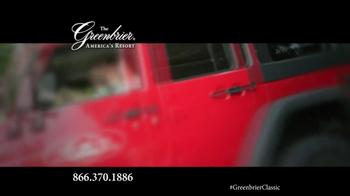 The Greenbrier Resort TV Spot Feat. Tom Watson, Kenny Perry, Stuart Appleby - Thumbnail 8