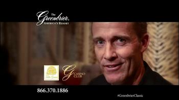 The Greenbrier Resort TV Spot Feat. Tom Watson, Kenny Perry, Stuart Appleby - Thumbnail 9
