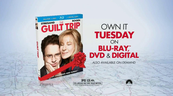 The Guilt Trip Blu-ray, DVD & Digital TV Spot - 290 commercial airings