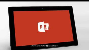 Microsoft Surface RT TV Spot - Thumbnail 6