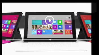 Microsoft Surface RT TV Spot - Thumbnail 9