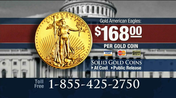U.S. Money Reserve TV Spot, \'Gold American Eagles\'