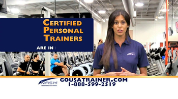 NASM TV Spot, 'Become a Trainer' - Thumbnail 5