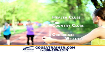 NASM TV Spot, 'Become a Trainer' - Thumbnail 6