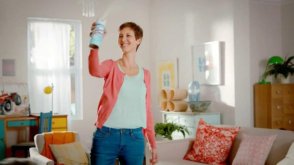 Lysol Disinfectant Spray TV Commercial, 'Air Freshening vs Healthing' -  Video