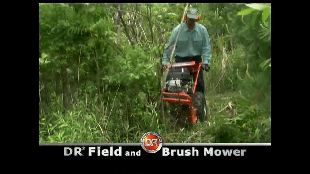 DR Power Equipment Field and Brush Mower TV Spot