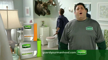 Depend Shields and Guards TV Spot Featuring Tony Siragusa - Thumbnail 10