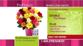 ProFlowers TV Spot, 'Mother's Day'