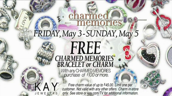 Kay Jewelers Charmed Memories TV Spot, 'Baby Monitor: Mother's Day: Free Bracelet or Charm' - Thumbnail 10