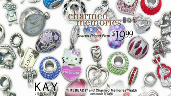 Kay Jewelers Charmed Memories TV Spot, 'Baby Monitor: Mother's Day: Free Bracelet or Charm' - Thumbnail 7
