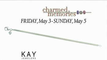 Kay Jewelers Charmed Memories TV Spot, 'Baby Monitor: Mother's Day: Free Bracelet or Charm' - Thumbnail 8