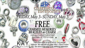 Kay Jewelers Charmed Memories TV Spot, 'Baby Monitor: Mother's Day: Free Bracelet or Charm' - Thumbnail 9