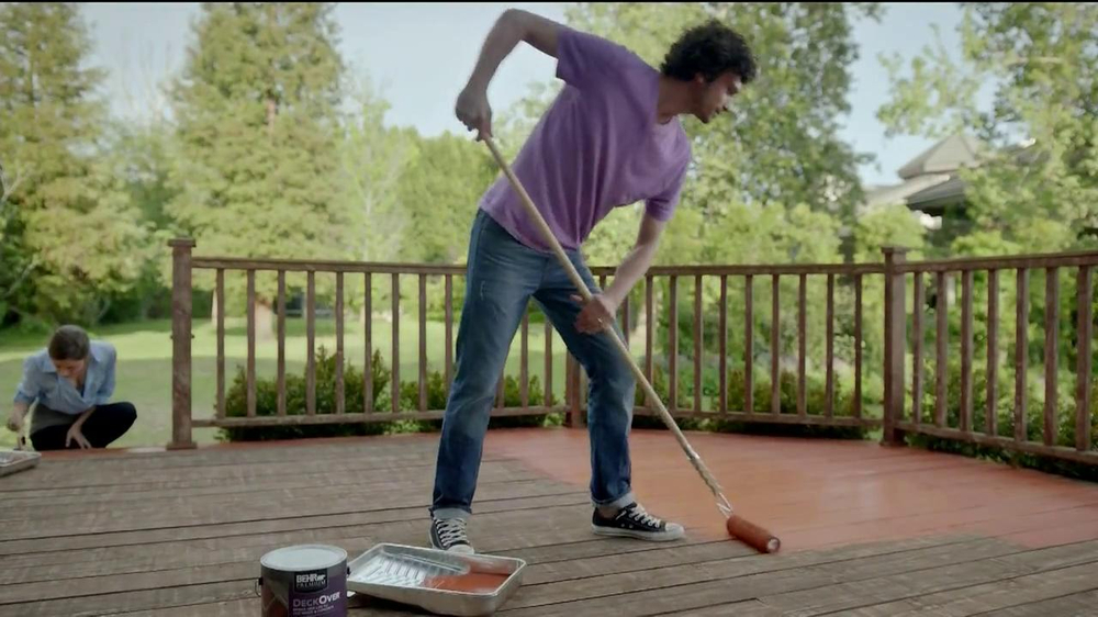 BEHR Paint DeckOver TV Commercial, 'Dance Party' Song by Robert Parker
