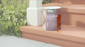 BEHR Paint DeckOver TV Spot, 'Dance Party' Song by Robert Parker - Thumbnail 7