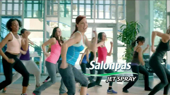 Salonpas Pain Relieving Jet Spray TV Spot, 'Arobics' - 4507 commercial airings