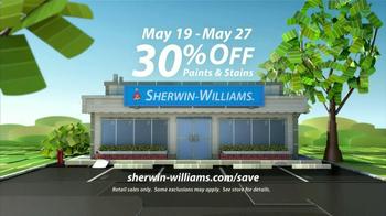 Sherwin-Williams Sunny Days Sale TV Spot, 'May 2013' - Thumbnail 10