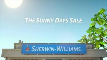 Sherwin-Williams Sunny Days Sale TV Spot, 'May 2013' - Thumbnail 4