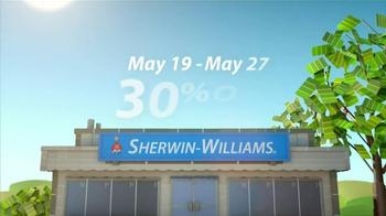 Sherwin-Williams Sunny Days Sale TV Spot, 'May 2013' - Thumbnail 5