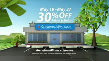 Sherwin-Williams Sunny Days Sale TV Spot, 'May 2013' - Thumbnail 9