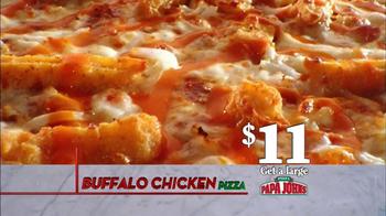 Papa John's Buffalo Chicken TV Spot, '2013 Menu Masters Award Winner' - Thumbnail 5