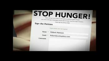 Stop American Hunger TV Spot - Thumbnail 4