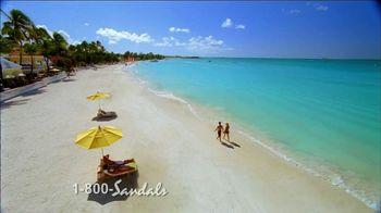 Sandals Resorts Grande Antigua TV Spot