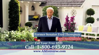 American Advisors Group TV Spot, 'Retirement' Featuring Fred Thompson