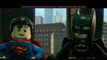 LEGO Batman: The Movie on Blu-ray Combo, DVD and Digital Download TV Spot