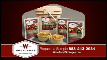 Wise Food Storage TV Spot Featuring Ruth England - Thumbnail 9