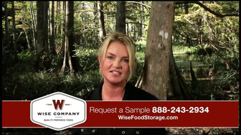Wise Food Storage TV Spot Featuring Ruth England - Thumbnail 3