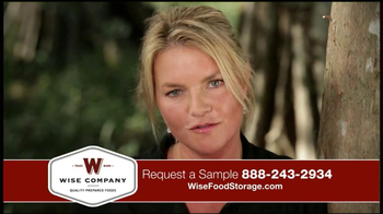Wise Food Storage TV Spot Featuring Ruth England - Thumbnail 4