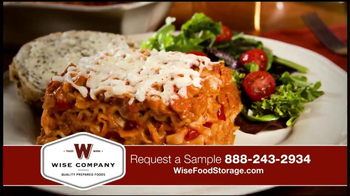Wise Food Storage TV Spot Featuring Ruth England - Thumbnail 6