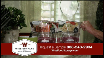 Wise Food Storage TV Spot Featuring Ruth England - Thumbnail 8