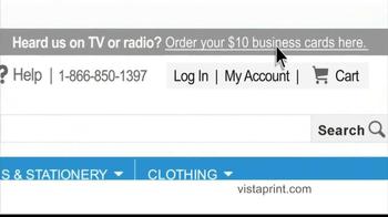 Vistaprint TV Spot, 'George Patterson: Simple' - Thumbnail 5