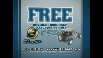 4 Wheel Parts TV Spot, 'Driverside Underseat Lockbox' - Thumbnail 2