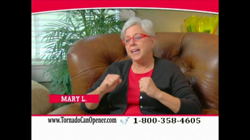 Tornado Can Opener TV Spot - Thumbnail 6