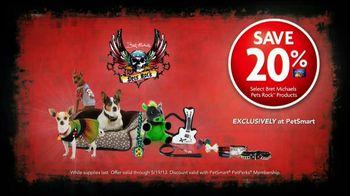 PetSmart TV Spot, 'Pets Rock' Featuring Bret Michaels - 98 commercial airings