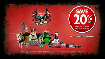 PetSmart TV Spot, 'Pets Rock' Featuring Bret Michaels - Thumbnail 9