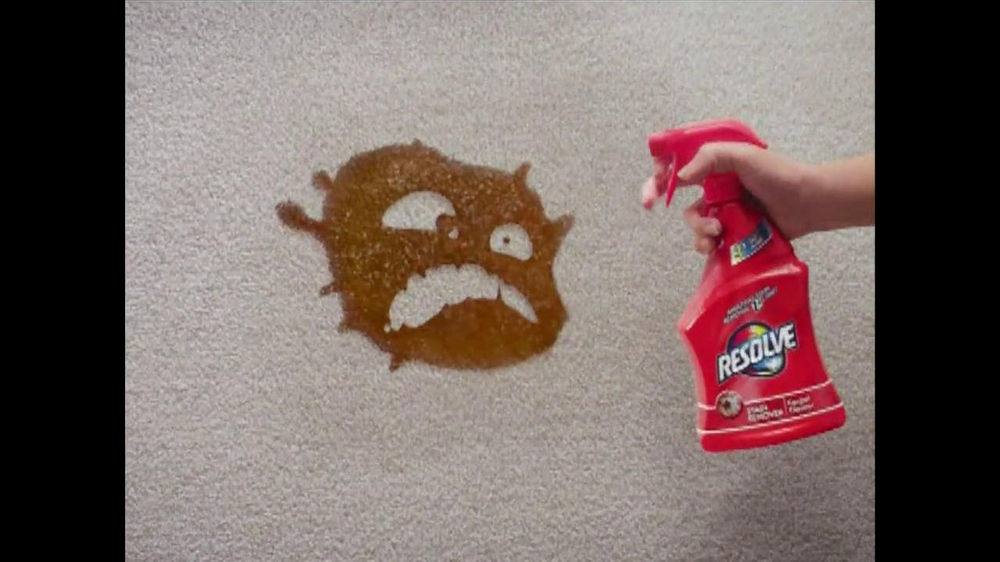 Resolve Stain Remover TV Commercial, 'Carpet Monsters'