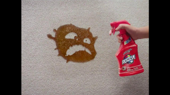 Resolve Stain Remover TV Spot, \'Carpet Monsters\'