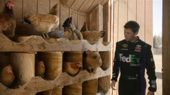 FedEx Ground TV Spot, 'Chickens' Featuring Denny Hamlin - Thumbnail 3
