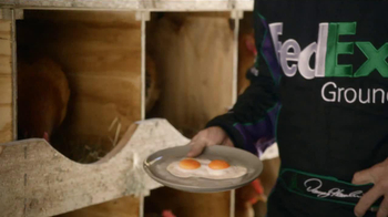 FedEx Ground TV Spot, 'Chickens' Featuring Denny Hamlin - Thumbnail 7