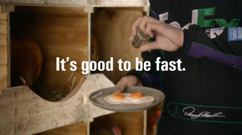 FedEx Ground TV Spot, 'Chickens' Featuring Denny Hamlin - Thumbnail 8