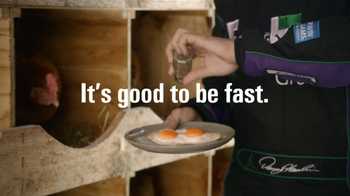 FedEx Ground TV Spot, 'Chickens' Featuring Denny Hamlin - Thumbnail 9