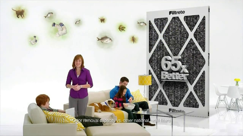 Filtrete Odor Reduction TV Commercial, 'Nasty Odors' Featuring Mike Holmes