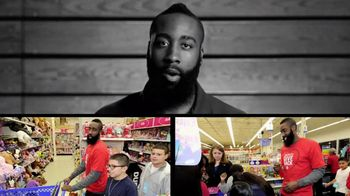 NBA Cares TV Spot, 'Community Service' Featuring James Harden - 2 commercial airings